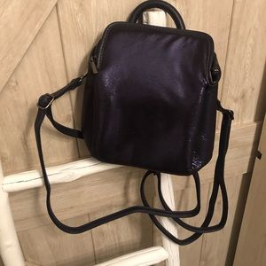 Small Free people back pack purse